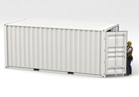 Toepassing container