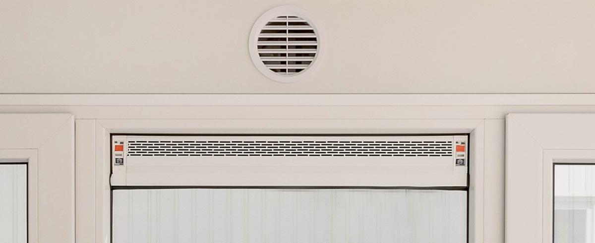 Ventilatie bouwunits